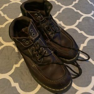 Dr Martens brown boots